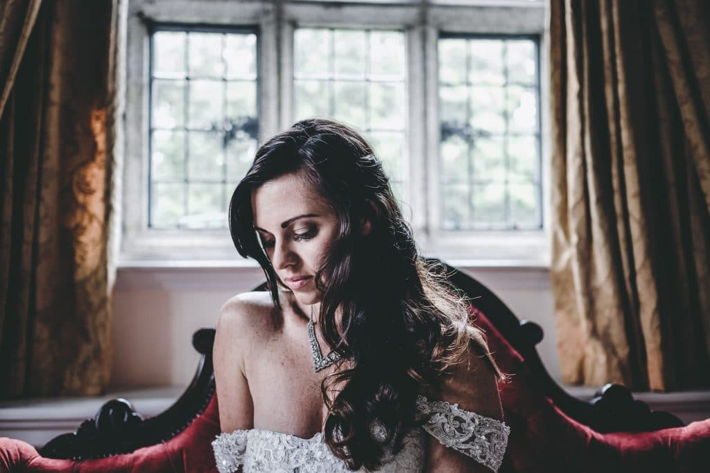 Waterford Castle wedding bride